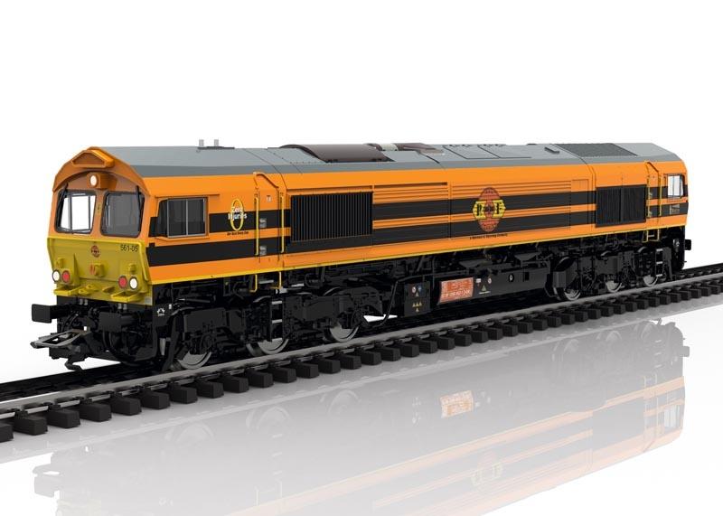 Diesellok Class 66 der RRF, Sound, mfx+ DCC, AC, Spur H0
