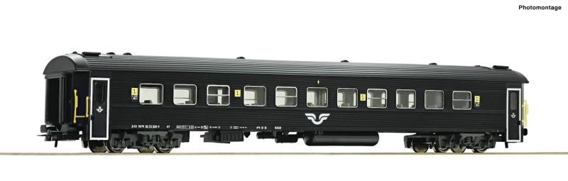 Reisezugwagen 1. Klasse der SJ, DC, Spur H0