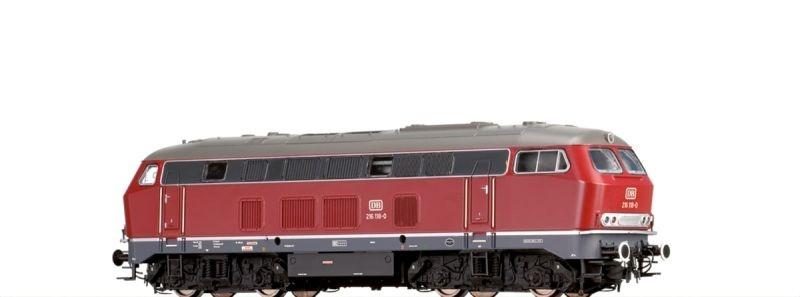 Diesellok BR 216 der DB, IV, DC Analog BASIC+, Spur N