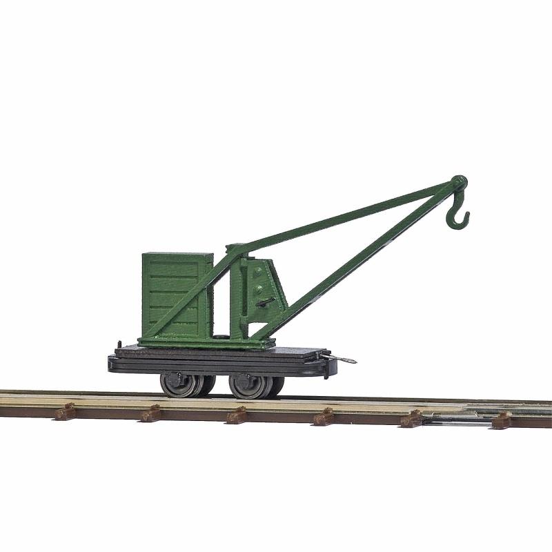 Kranwagen, Spur H0f Feldbahn