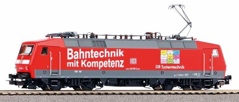E-Lok BR 120 DB Bahnkompetenz der DB AG, Ep. VI, DC, Spur H0