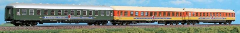 3-tlg. Personenwagenset Apfelpfeil, Ep. IV, 1:87 / Spur H0