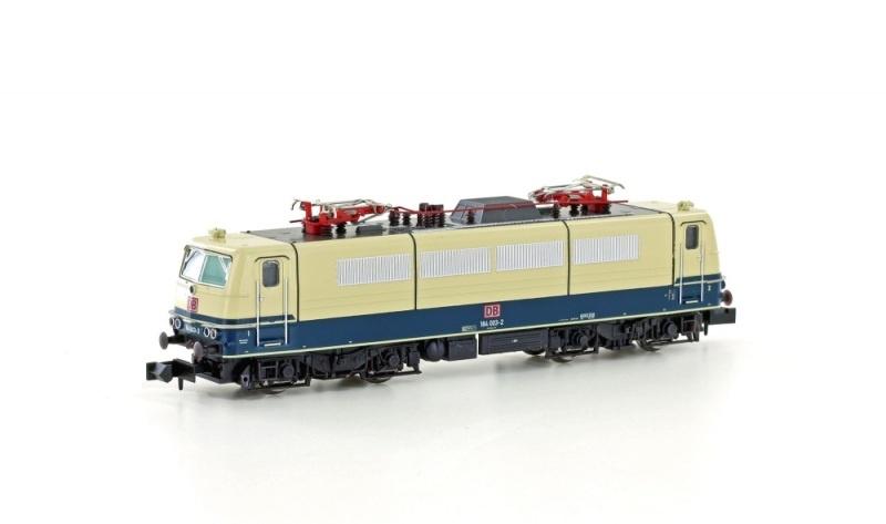 E-Lok BR 184 003-2 DB Museumlok, Ep.V, blau/beige, Spur N