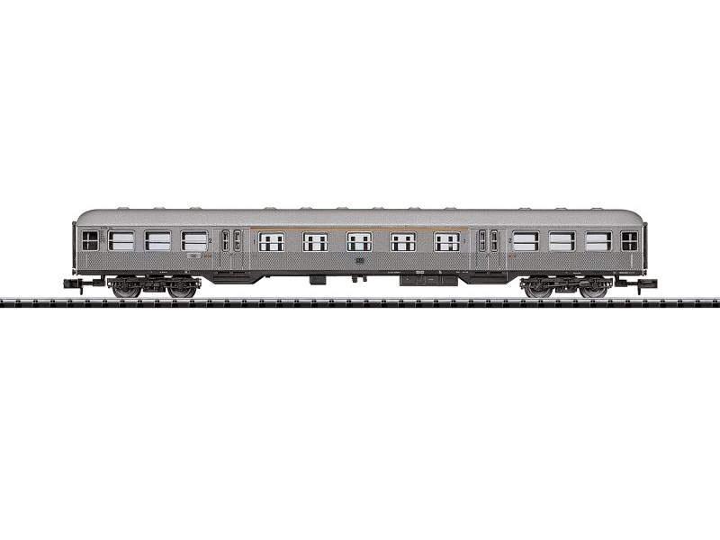 Personenwagen ABn Silberling der DB, Minitrix Spur N