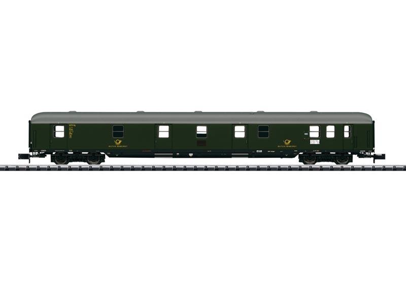 Bahnpostwagen der DB, Minitrix Spur N