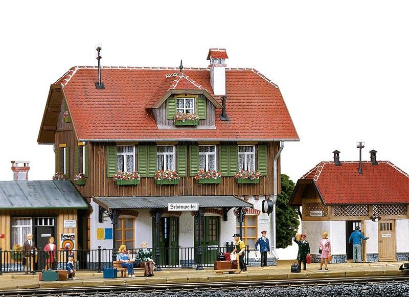 Bahnhof Schönweiler Bausatz G