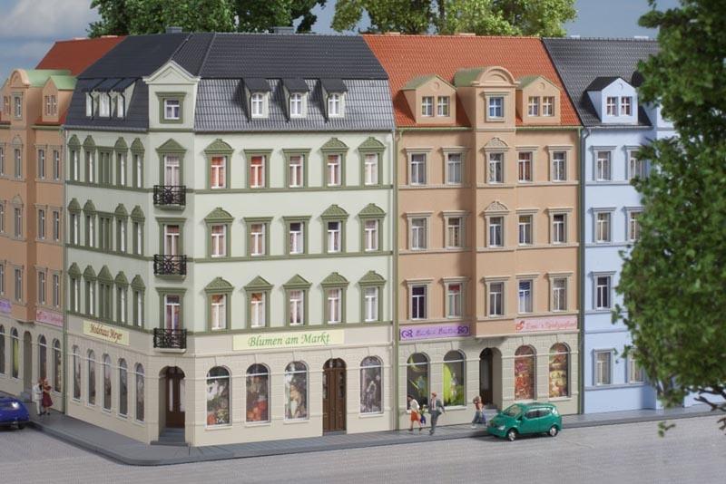 Eckhaus Ringstraße 1, Bausatz, Spur N