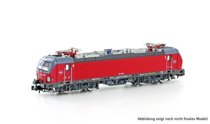 E-Lok EB 3200 Vectron DSB, Ep.VI, Spur N