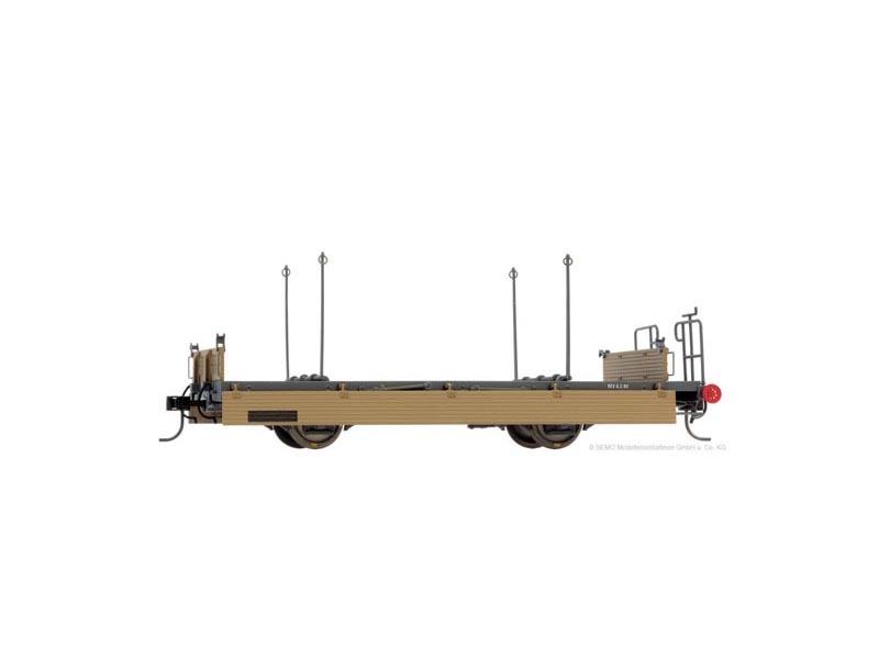 Niederbordwagen Kk-w 7340 der RhB, Spur 0m