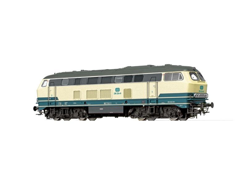 Diesellokomotive BR 216 der DB, IV, DC, Spur N