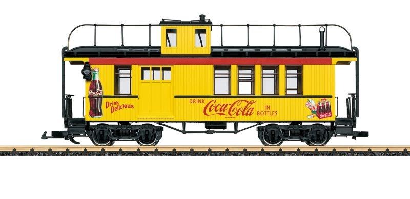 Coca Cola Caboose Begleitwagens, Spur G