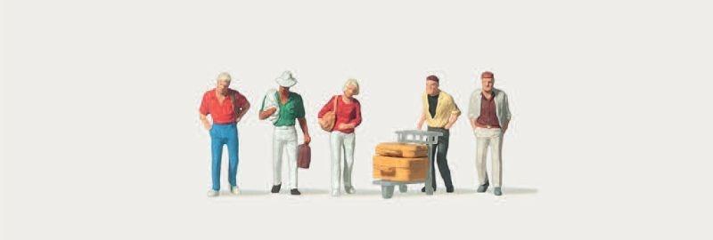 Reisende (Einzeln) Figuren 1:120 / Spur TT