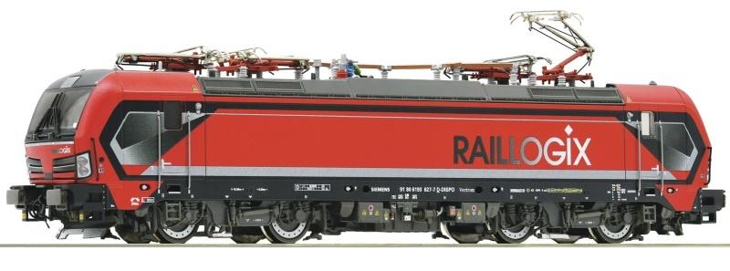 Elektrolokomotive 193 627-7, Raillogix, DC, Spur H0