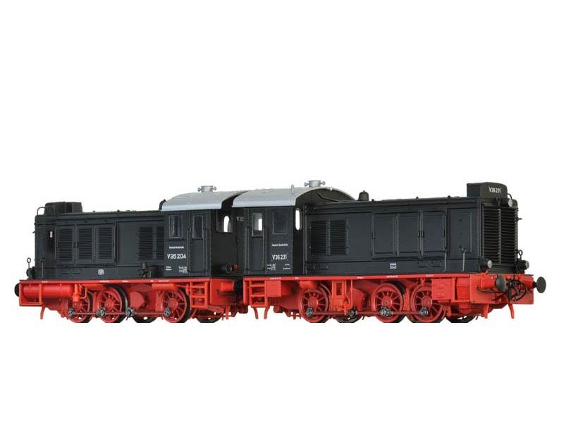 Diesellok V36 der DGEG (DB), IV/V, DC Digital EXTRA, Spur H0