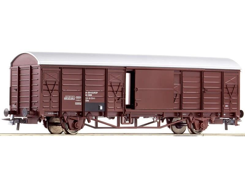 Gedeckter Güterwagen Gbs der ÖBB, DC, Spur H0