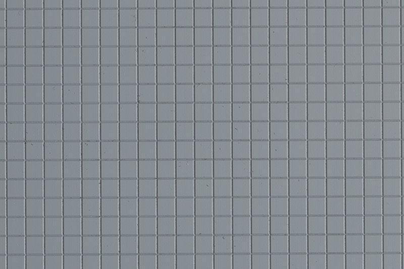 Gehwegplatte klein, Kunststoff, Spur H0 / Spur TT