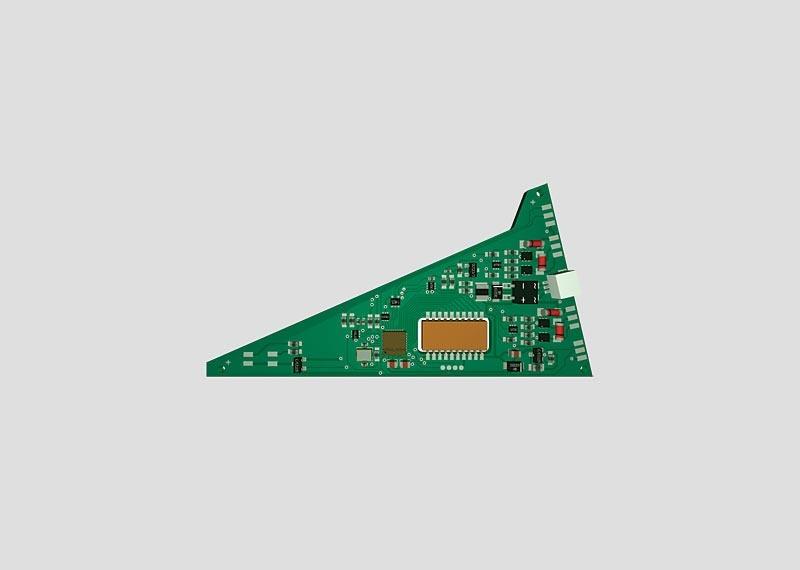 Einbau-Digital-Decoder (C-Gleis) für Dreiwegweiche 24630 H0