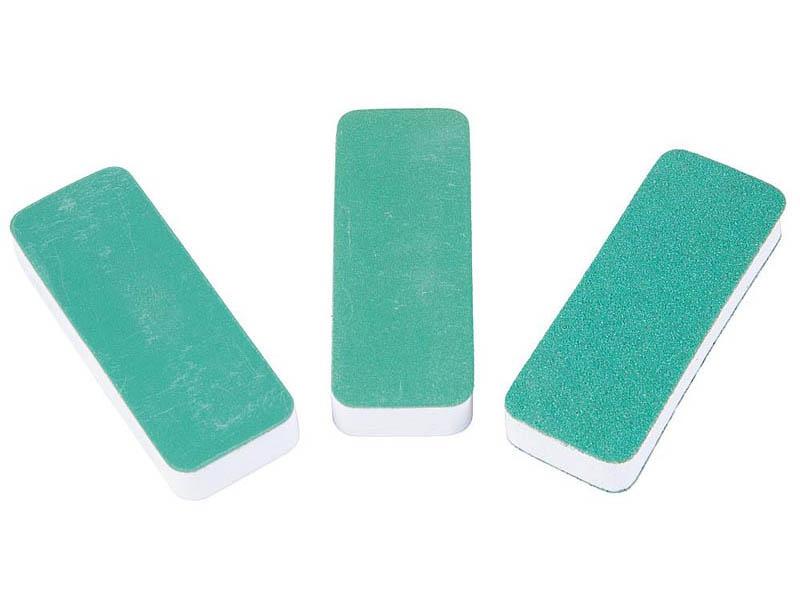 Schleifpads, 80 x 30 x 6 mm, 3er-Pack