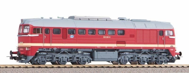 Diesellok BR 220 der DR, Ep. IV, DC, Spur H0