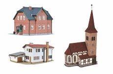 Stadt, Land und Dorf