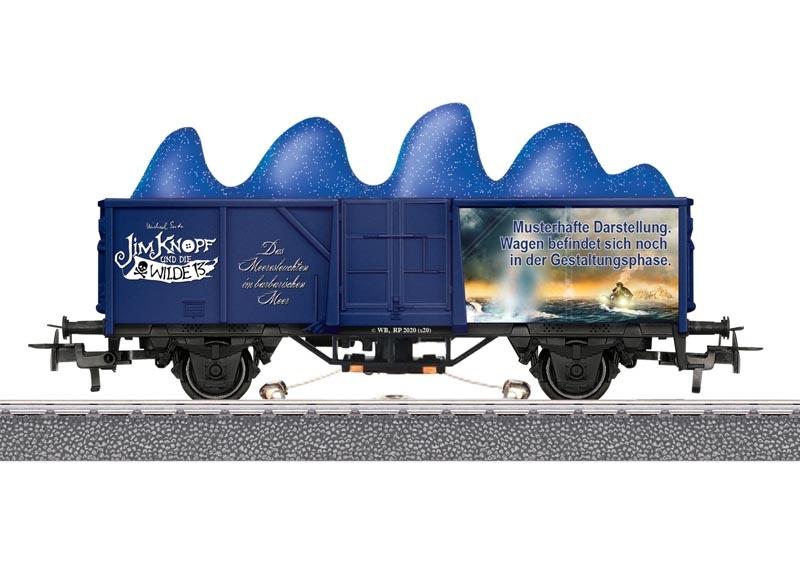 Start up - Offener Güterwagen Meeresleuchten, AC, Spur H0