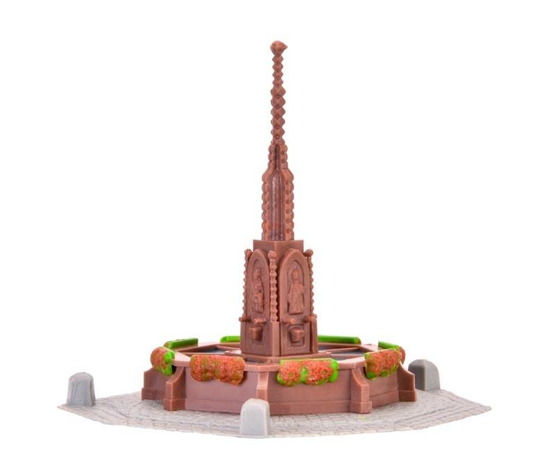 Rathaus Brunnen, Bausatz, Spur H0