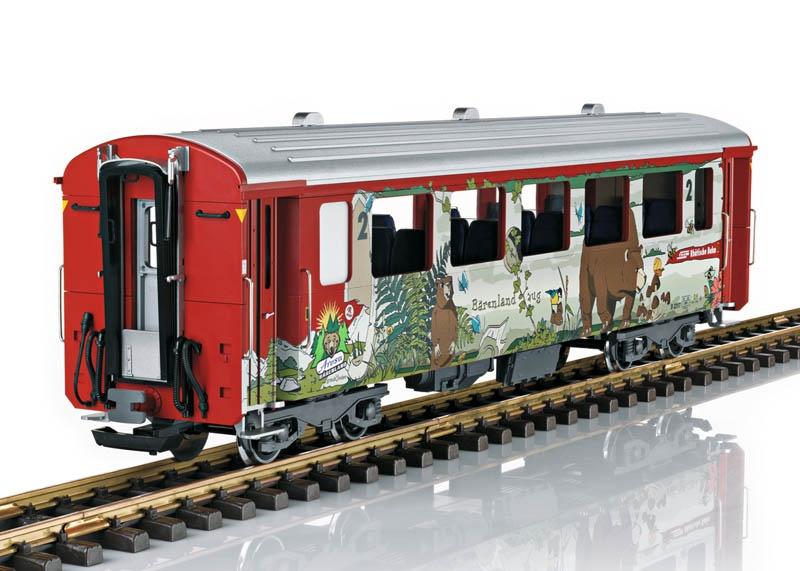 Schnellzugwagen 2. Kl., Bärenlandwagen der RhB, Spur G