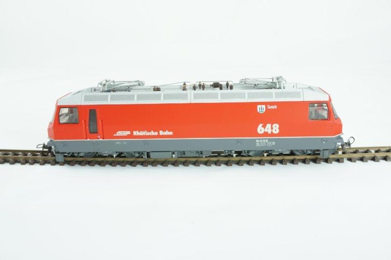 Ge 4/4 III 648 E-Lok Susch der RhB, digital mit Sound, H0m