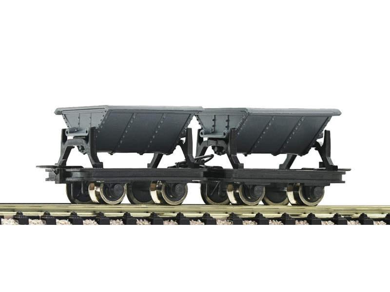 Güterwagen-Set Kipploren 2 tlg. H0e