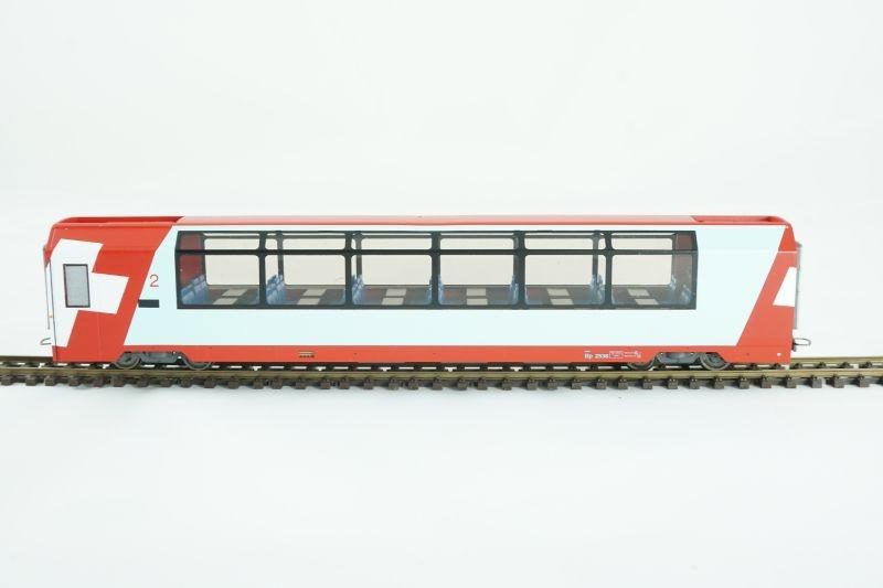 Panoramawagen Bp 2536 2.Klasse Glacier-Express, RhB, H0m