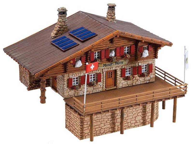 Hochgebirgshütte Moser-Hütte Bausatz H0