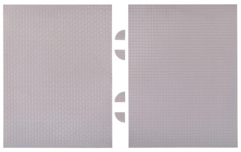 Gehwegplatte, 20 x 12 cm, Spur N
