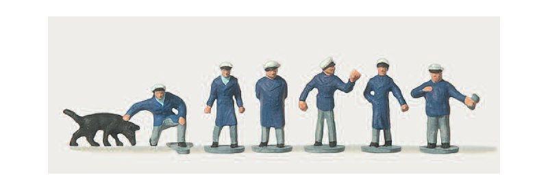 Ordnungspolizisten Figuren 1:160 / Spur N