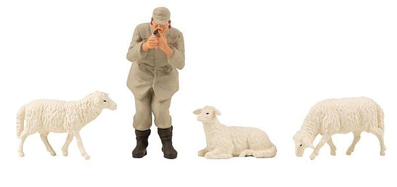 Schäfer und Schafe Figuren, Spur G