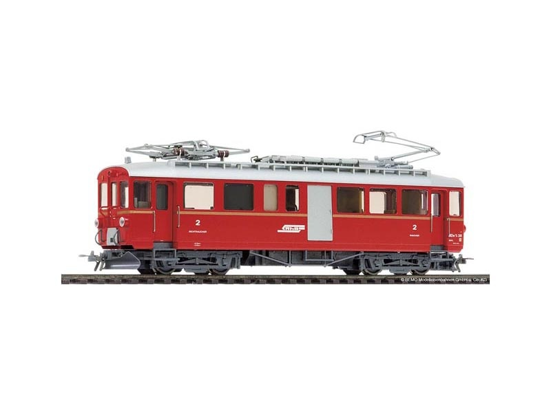 Berninatriebwagen ABDe 4/4 38 der RhB, digital, Spur H0m