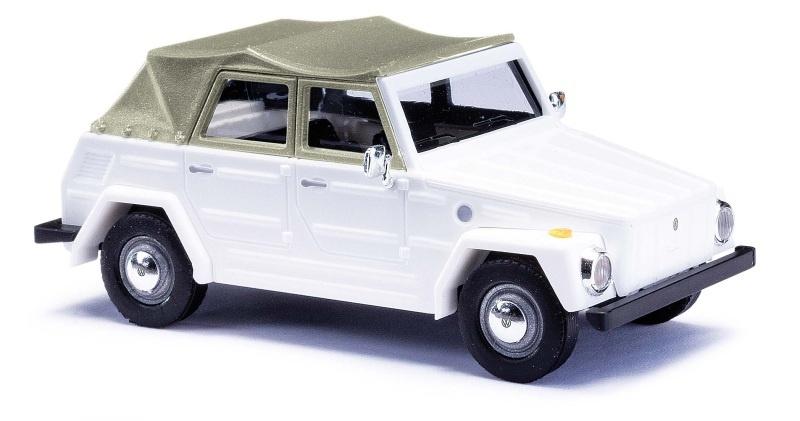 VW 181 Kurierwagen, Weiß, Spur H0