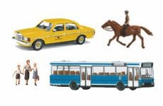 Fahrzeuge, Figuren und Co