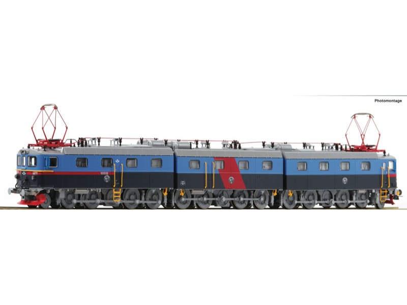 E-Lok Dm3 blau SJ H0 AC