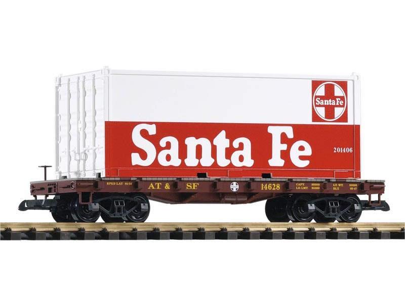 Containerwagen der Santa Fe Railroad, Spur G