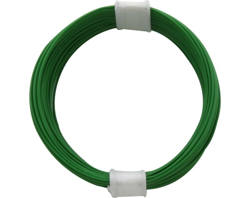 Kupferschalt Litze 0,04 mm² / 10 m grün