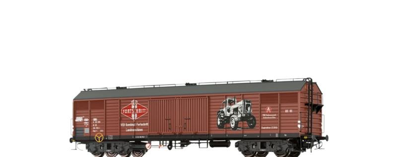 Gedeckter Güterwagen Gags-v Fortschritt der DR, DC, H0