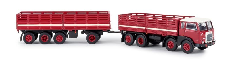 Fiat 690 Millepiedi rot, schwarz, 1:87 / Spur H0
