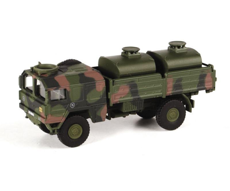 MAN 5t gl KAT1 Tank-Lkw Bundeswehr, flecktarn, 1:87 Spur H0