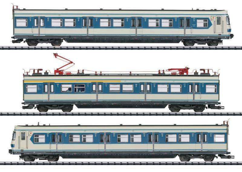 S-Bahn München Triebzug BR 420 der DB, DCC, mfx, DC, Spur H0