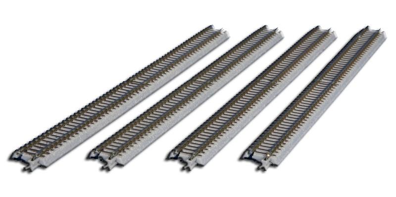 Gleis gerade, 220 mm, mit Anschlussblende, Spur Z