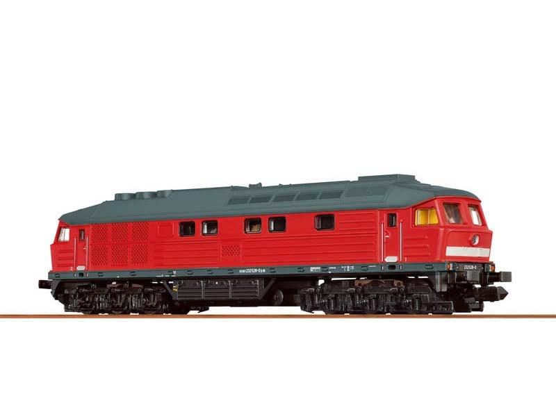 Diesellokomotive 232 der DB, VI, BASIC+, DC, Spur N