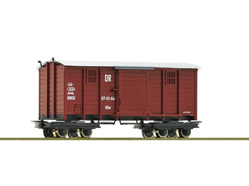 Gedeckter Güterwagen DR H0e