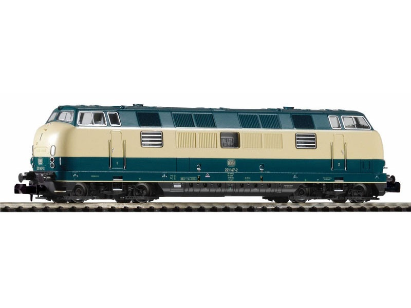 Diesellokomotive BR 221 der DB, Ep. IV, Spur N