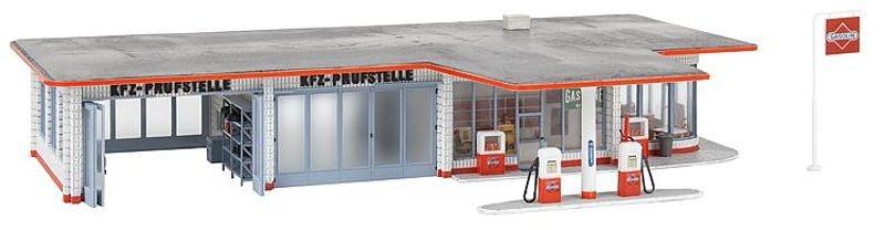 Tankstelle Brandshof Bausatz, Spur H0
