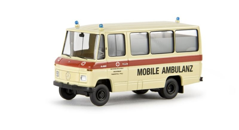 MB O 309 Bus DRK Mobile Ambulanz, Spur H0